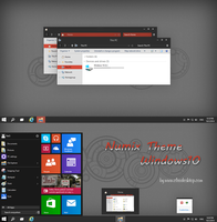 Numix Theme Windows 10 Technical Preview by cu88
