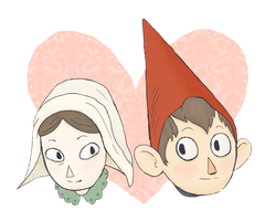 Lorna and turt wirt by ColubridCola
