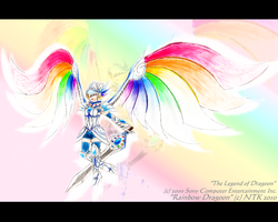 Rainbow Dragoon Fem by Nika-The-Kitsune