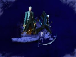 Vergil Devil May Cry by softlady