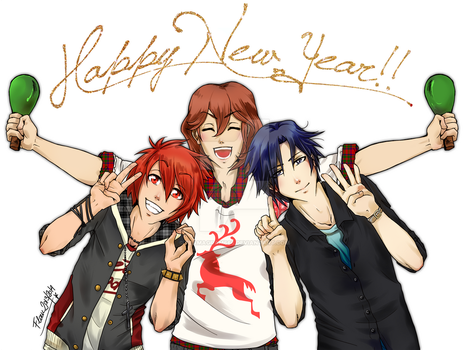 HAPPY NEW YEAR! by Flamagram666