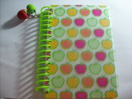 Notebook: Little apples by Sashlyr