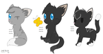 ScourgeXAshFur Kits by LeafyTheCat