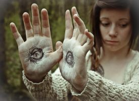 The eyes of Pan. by Lyndzie