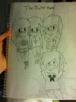 Over look on my new drawing (with anitas face!) by Srbyssketching
