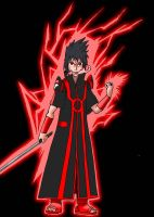 Sasuke Red Lantern by baos3113