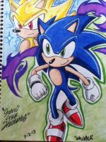 ..::Sonic The Hedgehog, Super Sonic::.. by emichaca