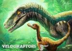 Velociraptors by Risachantag
