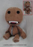sackboy plush by SewLolita