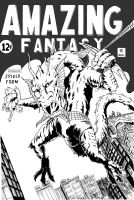 AMAZING FANTASY -15 spoof by BROKENHILL