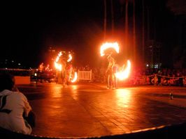 Metrocon 09: Fire Show 3 by Rose-Vicious
