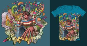 Threadless PSYCHEDELIC TRIP EXPERIENCE by Sacadesi