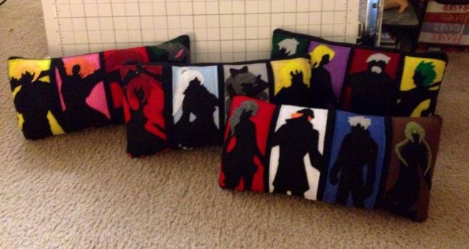 RWBY Pillow Set [new villains pillow!] by BaconFlavoredCosplay
