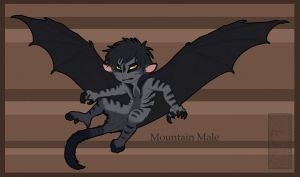 Mountain Male chibi sold by shorty-antics-27