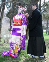 Ode To Kyoto Couple 43 by Falln-Stock