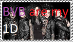 stamp BVB are my 1D by evelynsixx