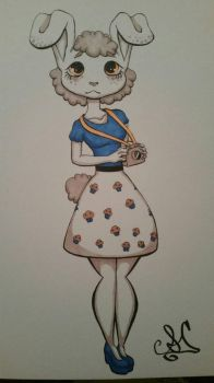 3 Marker Challenge - Muffy by KitKat-Dutchie