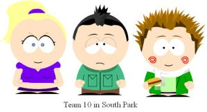 Team 10 in South Park by clammin910