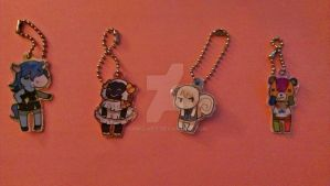 *** !!!! ANIMAL CROSSING CHARMS !!!! *** by vanillabit