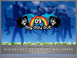 Big Day Out 09 Concept by akiwi