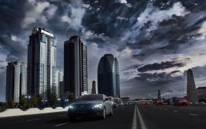 Grozny City HDR by Thetumso