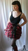 plaid poof by smarmy-clothes