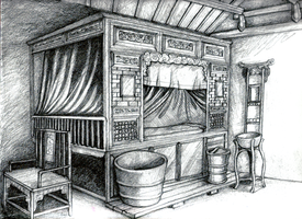 Illustration of Chinese Int. by JRTribe