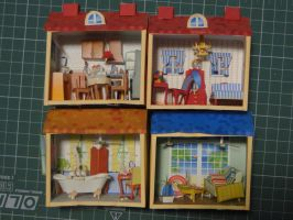 house papercraft by bslirabsl