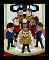 New School Star Trek by inneryoung