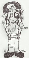 Arro My were wolf creation by Dysfunctional-H0rr0r