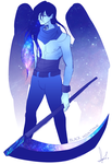 [SU] Gemsona: Black Moonstone by lunast