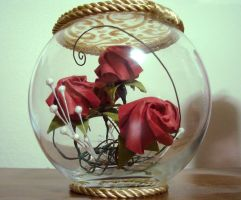 Roses Everlasting - Rose Globe by ashenXnight