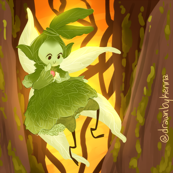 sylph by drawnbykenna