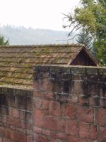 Wall with roof 1 by fioletta-stock