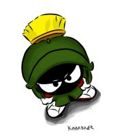 Marvin the Martian by kidbrainer