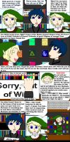 No Wii For Link by AngieTheStrange