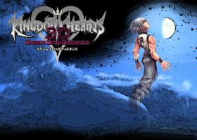 Kingdom Hearts 3D Wallapaper: Dream Riku by AzuraJae
