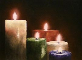 Candles by DanBurgessTheArtist