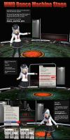 MMD Dance Machine Stage Instructions by Trackdancer