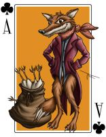 Stu's Fantastic Mr Fox by MirrorwoodComics