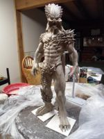 Blood Lord Predator Maquette by hwmilkman