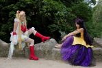 Super Sailor Moon and Luna by Bunnymoon-Cosplay
