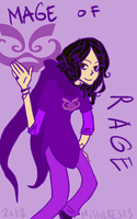 The Mage of Rage by Mistakes13