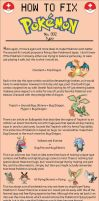 How to Fix Pokemon: 002 by tomeadesign