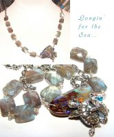 Longin' for the Sea Necklace by CrysallisCreations