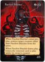 Magic Card Alteration: Faceless Butcher 8-6 by Ondal-the-Fool