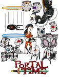 Portal time! by thelimeofdoom