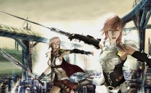 Lightning XIII and XIII 2 by SerenaKaori87