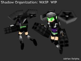 Shadow Organization Wasp by DelphaDesign