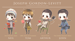Joseph Gordon-Levitt by panda423